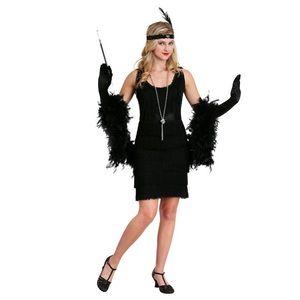 Fun Costumes 1920's Style Black Flapper Dress